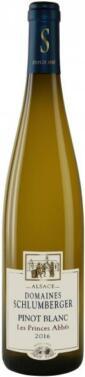 Pinot Blanc Les Princes Abbés 2016.