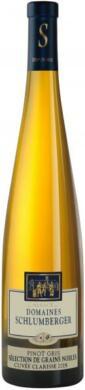 Cuvée Clarisse Pinot Gris Sélection de Grains Nobles 2015.