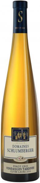 Cuvée Laure Pinot Gris Vendanges Tardives 2014.