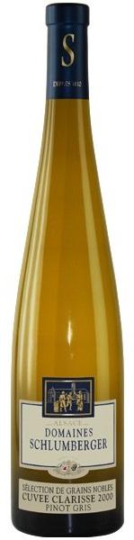 Pinot Gris Cuvée Clarisse SGN