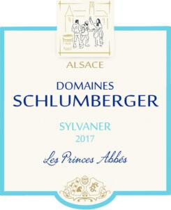 Etiquette Sylvaner Les Princes Abbés 2017