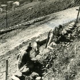 Histoire murs DomainesSchlumberger Alsace