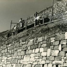 Histoire murs Domaines Schlumberger Alsace